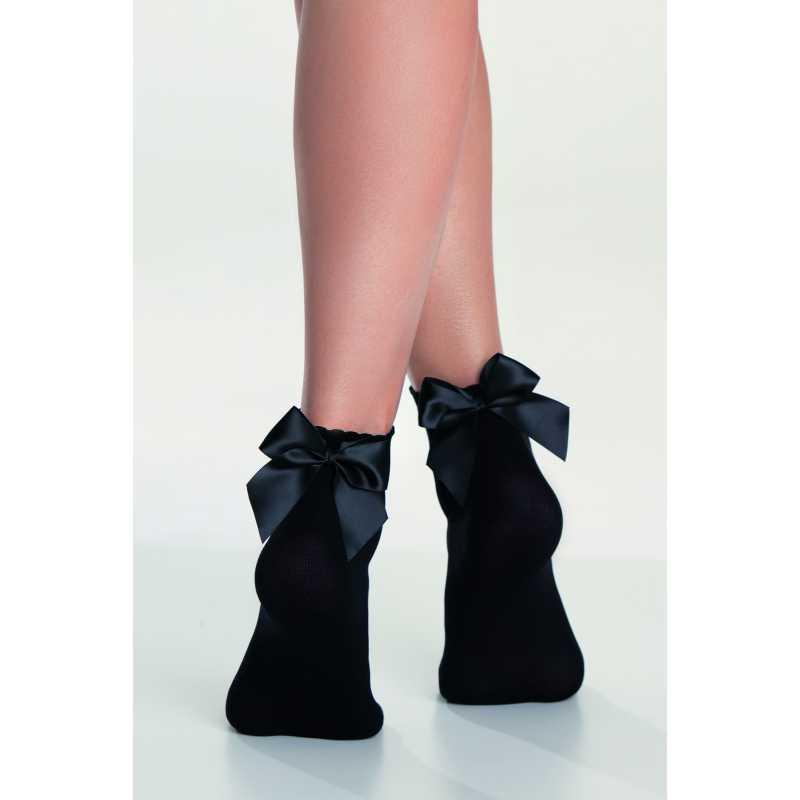 Къси чорапи с панделка