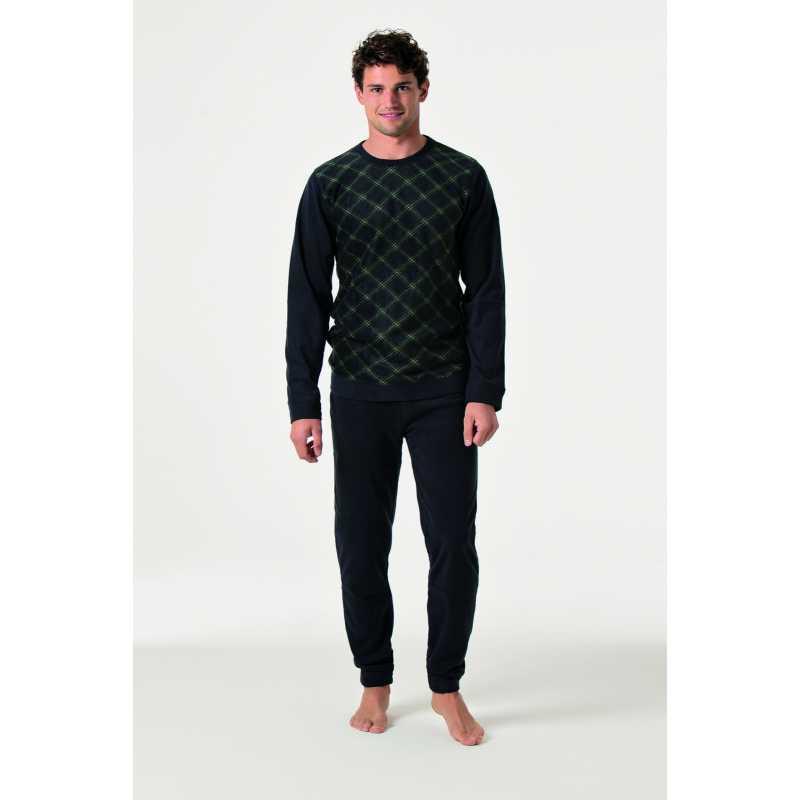 Мъжка пижама полар