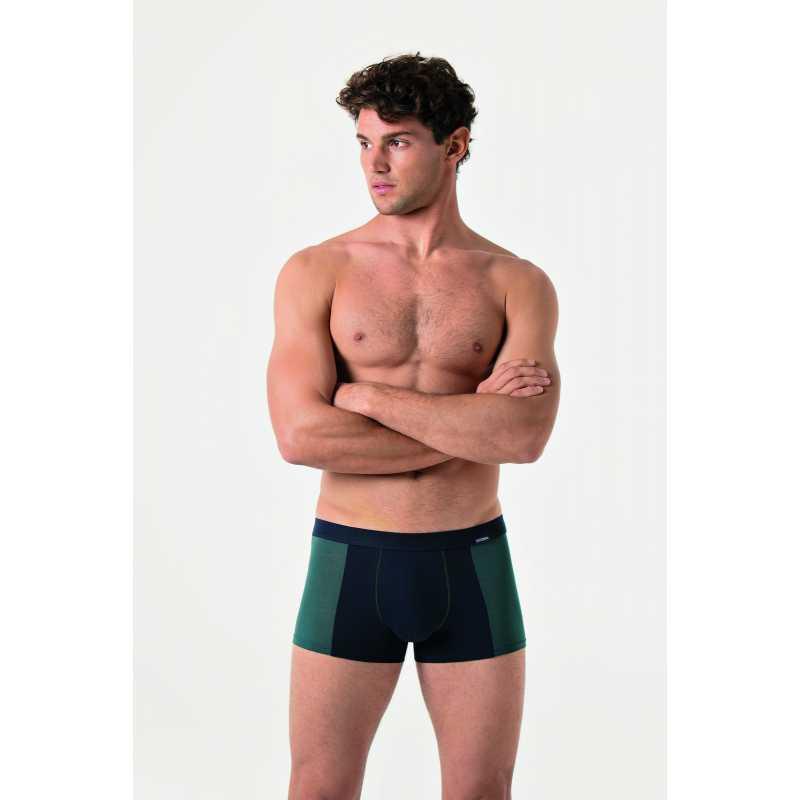 Мъжки боксер в контрастен десен