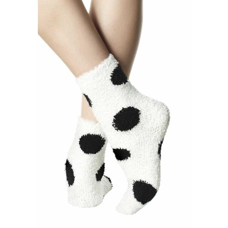 Къси дамски чорапи със зебра принт