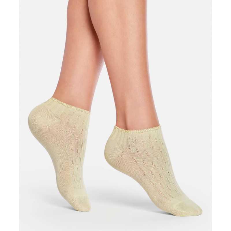 Къси чорапи жълти