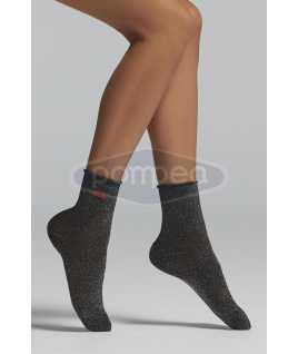 Къси чорапи с ламе