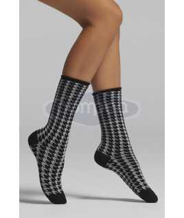 Чорапи десен на пепит