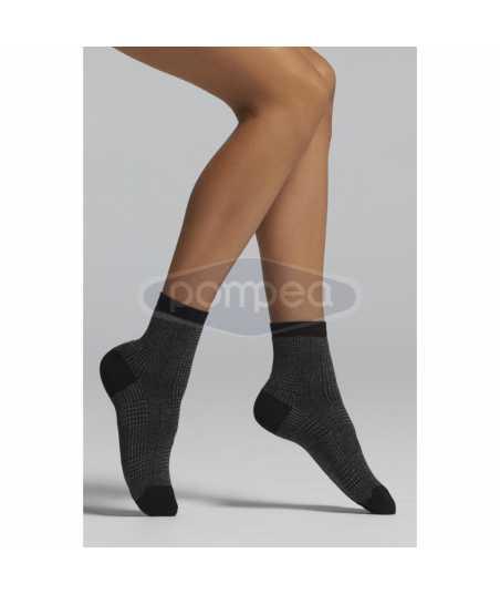 Къси дамски чорапи 2 чифта в опаковка