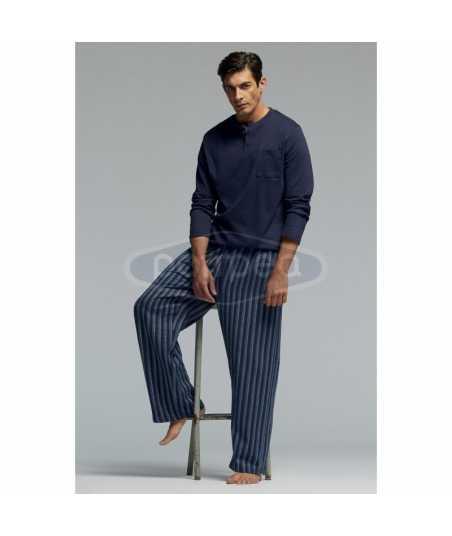 Интерлог мъжка пижама с дълъг ръкав
