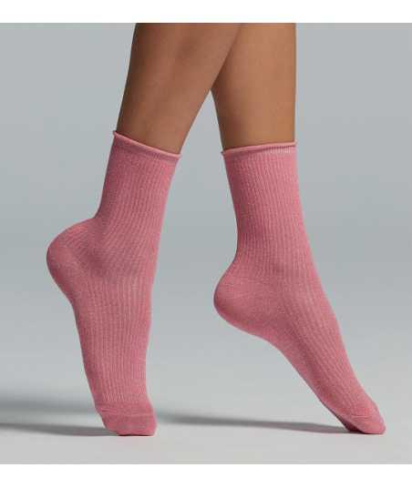 Дамски къси чорапи с ламе