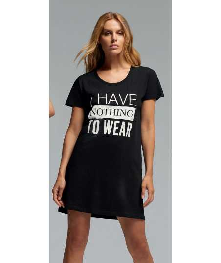 Дамска памучна дълга тениска