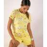Лятна дамска пижама в свеж флорален принт